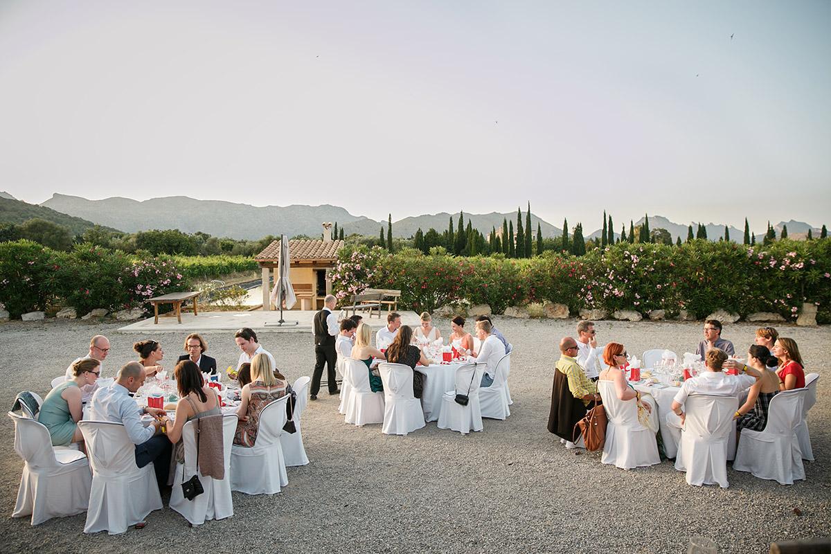 Hochzeitsfoto bei Hochzeitsfeier auf Mallorca © Hochzeitsfotograf Berlin www.hochzeitslicht.de