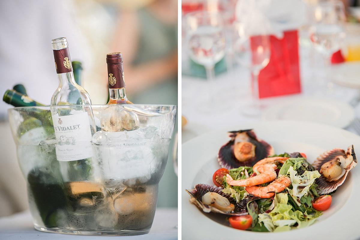 Detailaufnahmen vom Essen bei Mallorca Hochzeit © Hochzeitsfotograf Berlin www.hochzeitslicht.de