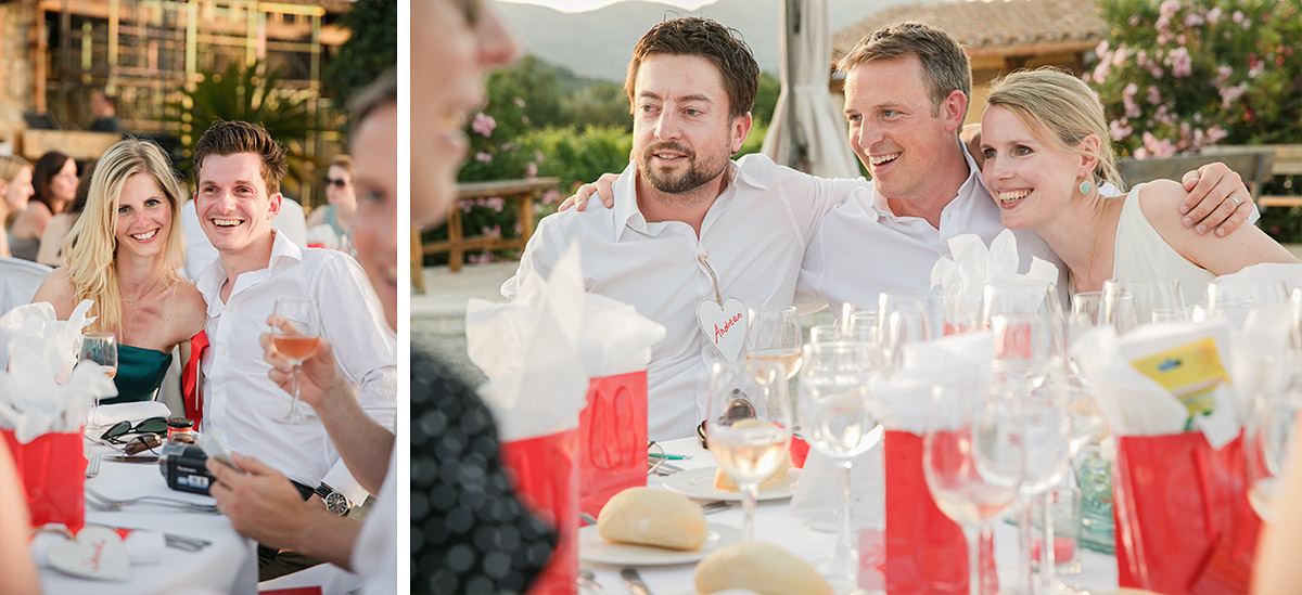 Hochzeitsfotos von entspannter Hochzeitsfeier aufgenommen von professionellem Hochzeitsfotograf auf Mallorca © Hochzeitsfotograf Berlin www.hochzeitslicht.de