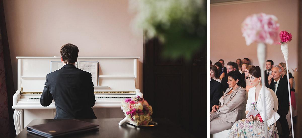 Professionelle Hochzeitsfotografien von Trauung im Schloss Kartzow augenommen von Hochzeitsfotografin Potsdam © Hochzeitsfotograf Berlin www.hochzeitslicht.de