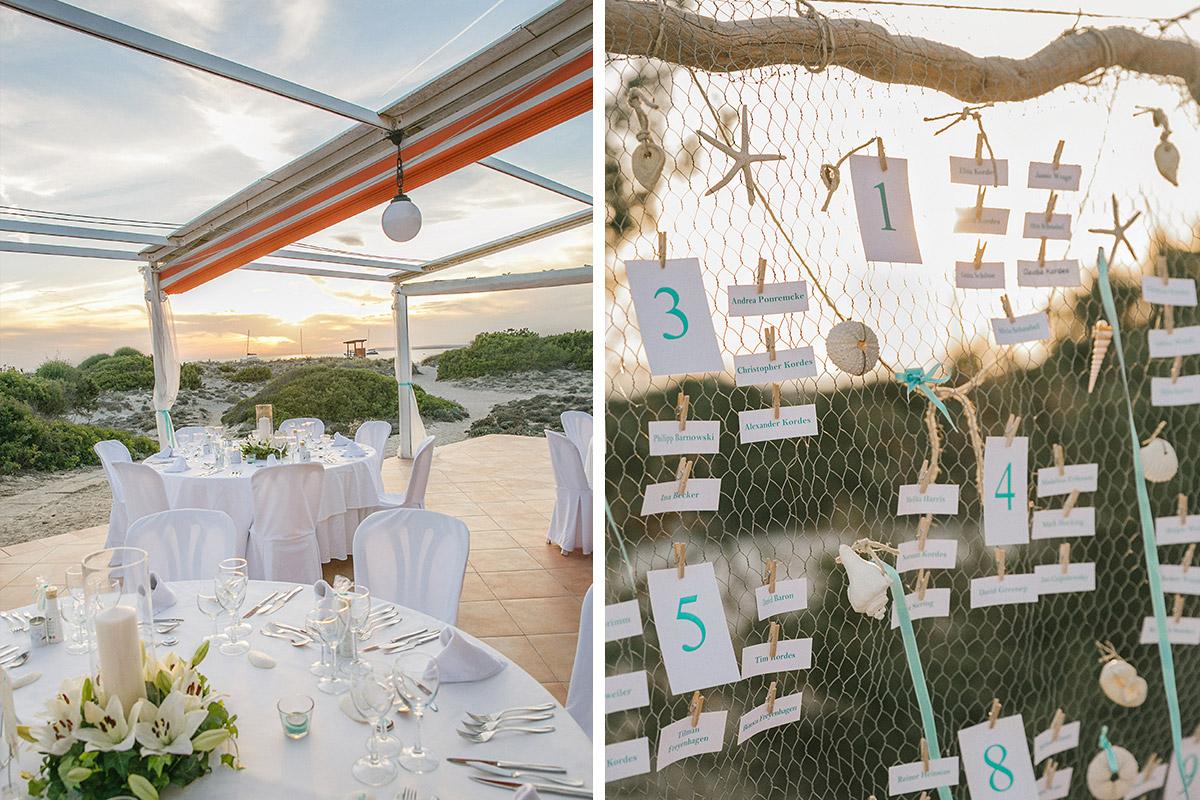 Dekoideen für Hochzeit auf Mallorca © Hochzeitsfotograf Berlin hochzeitslicht