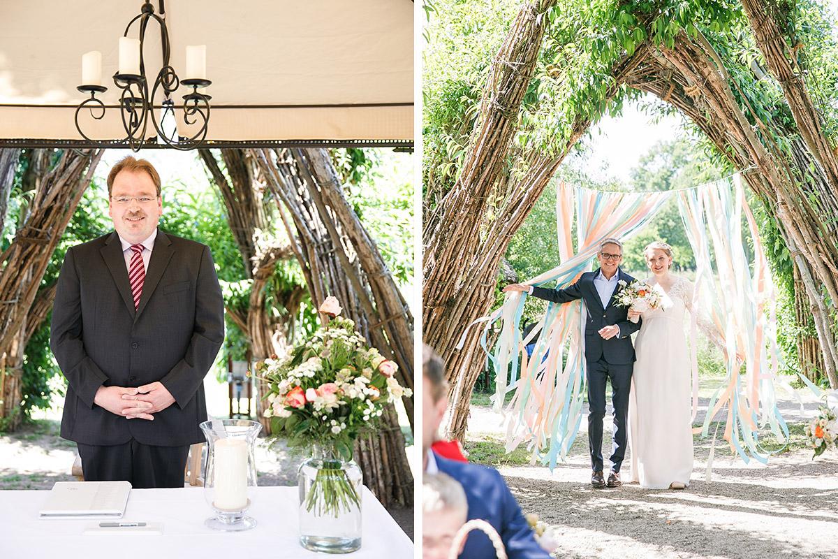 Heiraten im Weidendom vom Spreewaldresort Seinerzeit in Schlepzig Spreewald © Hochzeitsfotograf Berlin www.hochzeitslicht.de