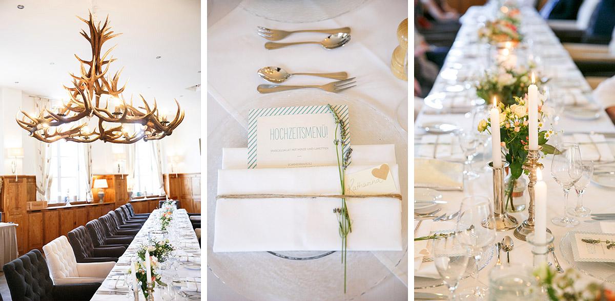 Detailaufnahmen der Hochzeitsdekoration bei DIY-Hochzeit mit Boho-Touch und Vintage-Flair im Spreewald © Hochzeitsfotograf Berlin www.hochzeitslicht.de