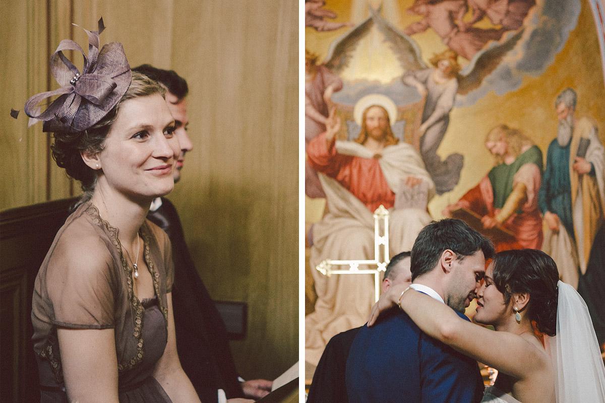 Hochzeitsfotos bei Ja-Wort während Trauungszeremonie in Heilandskirche Sacrow Potsdam © Hochzeitsfotograf Berlin www.hochzeitslicht.de