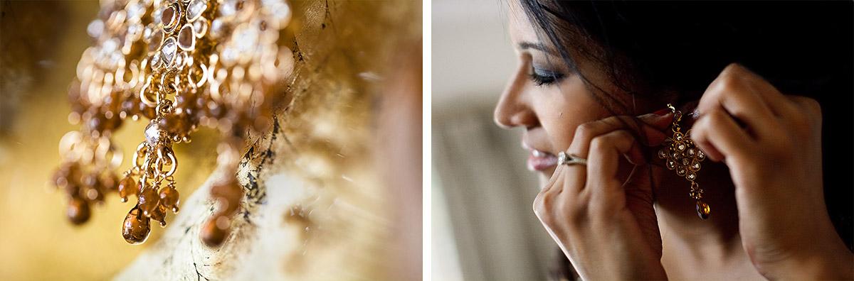 Brautschmuck für indische Hochzeitszeremonie und Hochzeitsfoto der Braut © Hochzeitsfotograf Berlin hochzeitslicht