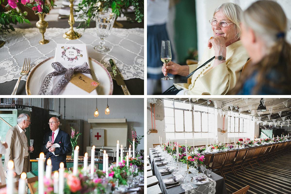 Hochzeitsfotos bei Hochzeitsfeier im Boho-Stil in Fabrik 23 Berlin © Hochzeitsfotograf Berlin www.hochzeitslicht.de