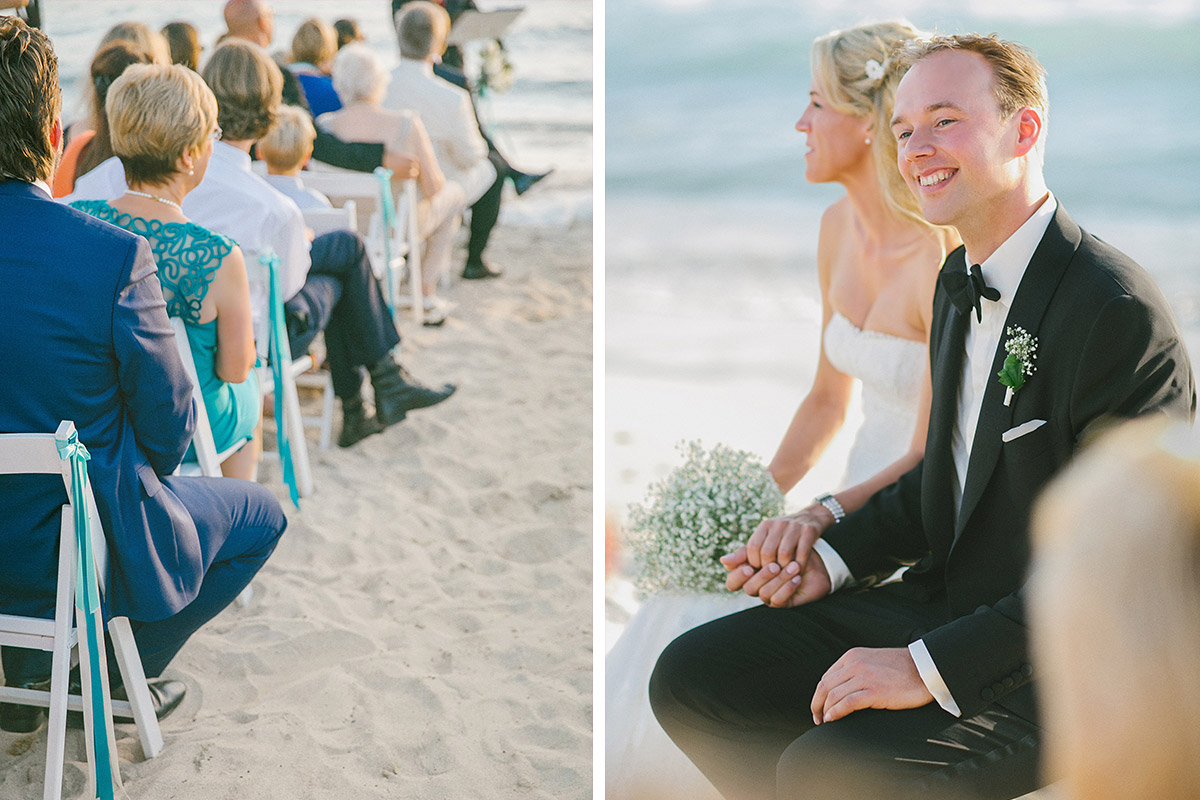 Hochzeitsreportage-Foto von freier Trauung bei Strandhochzeit in Es Trenc auf Mallorca © Hochzeitsfotograf Berlin www.hochzeitslicht.de