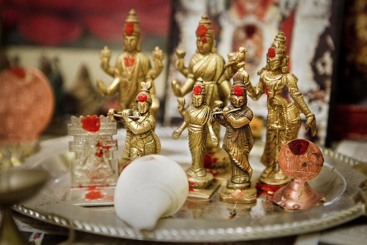 Detailaufnahme bei Hochzeitszeremonie in Hyderabad, Indien © Hochzeitsfotograf Berlin hochzeitslicht