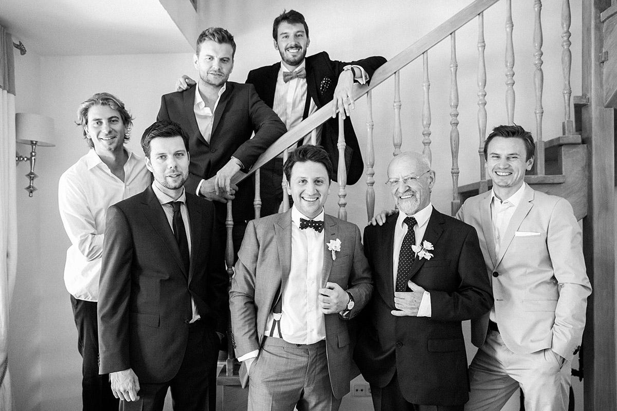 Gruppenfoto bei vintage Hochzeit in Schlepzig, Spreewald ...