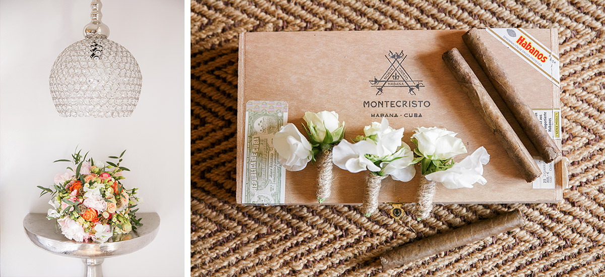 Hochzeitsfotos von DIY Brautstrauß aus Pfingstrosen und Wicken und ...