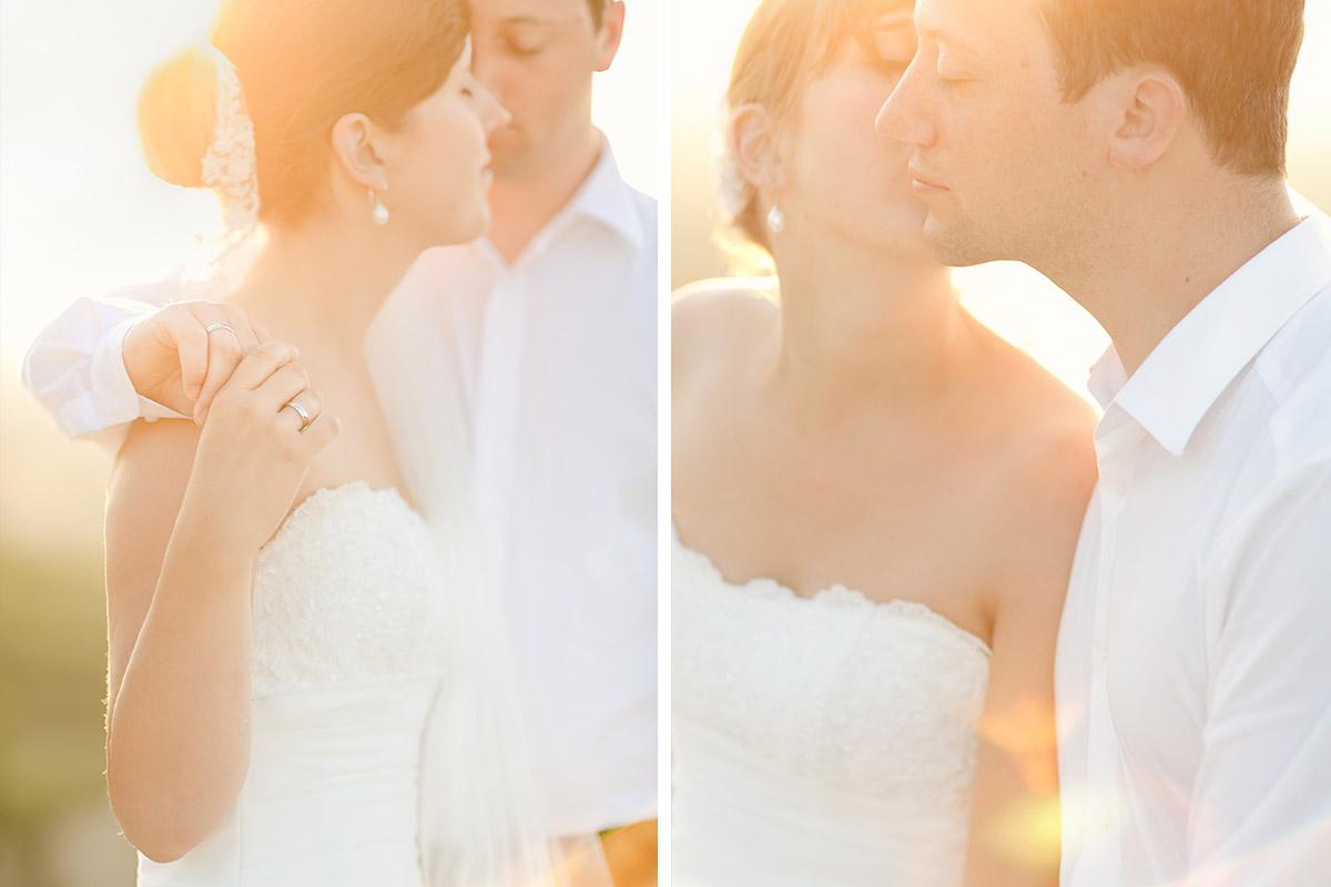 Paarfoto von Braut und Bräutigam bei After-Wedding-Fotoshooting Hochzeitsfotografinnen aus Berlin in der Provence, Frankreich © Hochzeitsfotograf Berlin hochzeitslicht