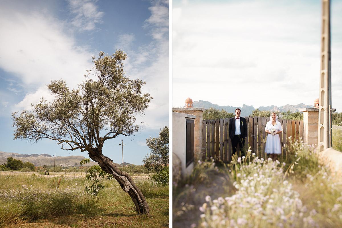 Hochzeitsfoto von Brautpaar bei Hochzeit auf Mallorca © Hochzeitsfotograf Berlin hochzeitslicht