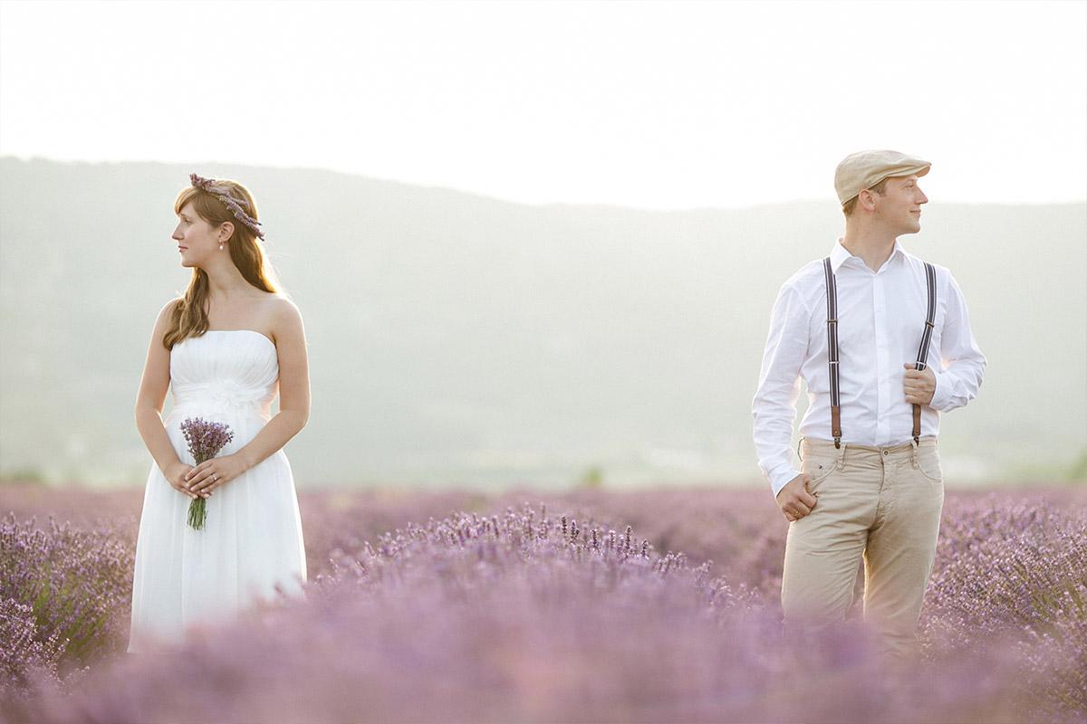 Professionelle Paarfotografie aufgenommen in der Provence von Berliner Paarfotograf © Fotostudio Berlin LUMENTIS