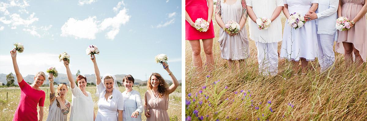 Fotos der Brautjungfern mit Braut aufgenommen von Hochzeitsfotografin auf Mallorca © Hochzeitsfotograf Berlin hochzeitslicht