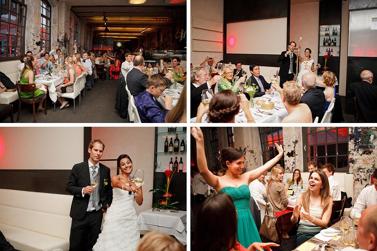 Hochzeitsfotos von Hochzeitsfeier im Sage Restaurant Berlin Kreuzberg © Hochzeit Berlin www.hochzeitslicht.de