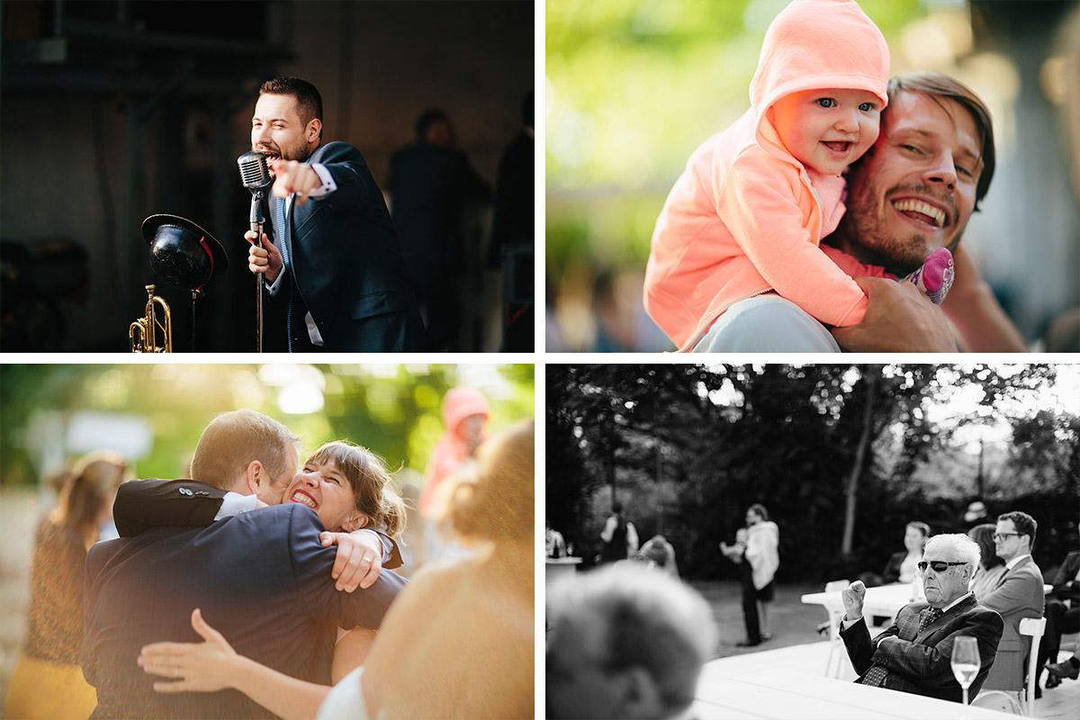Hochzeitsreportagefotografien von Hochzeitsgästen bei Hochzeit in Alter Teppichfabrik Berlin © Hochzeit Berlin www.hochzeitslicht.de
