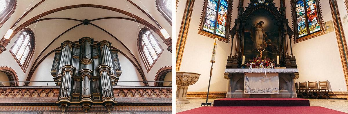 Hochzeitsreportage-Fotos von Erlöserkirche Berlin-Lichtenberg © Hochzeit Berlin www.hochzeitslicht.de