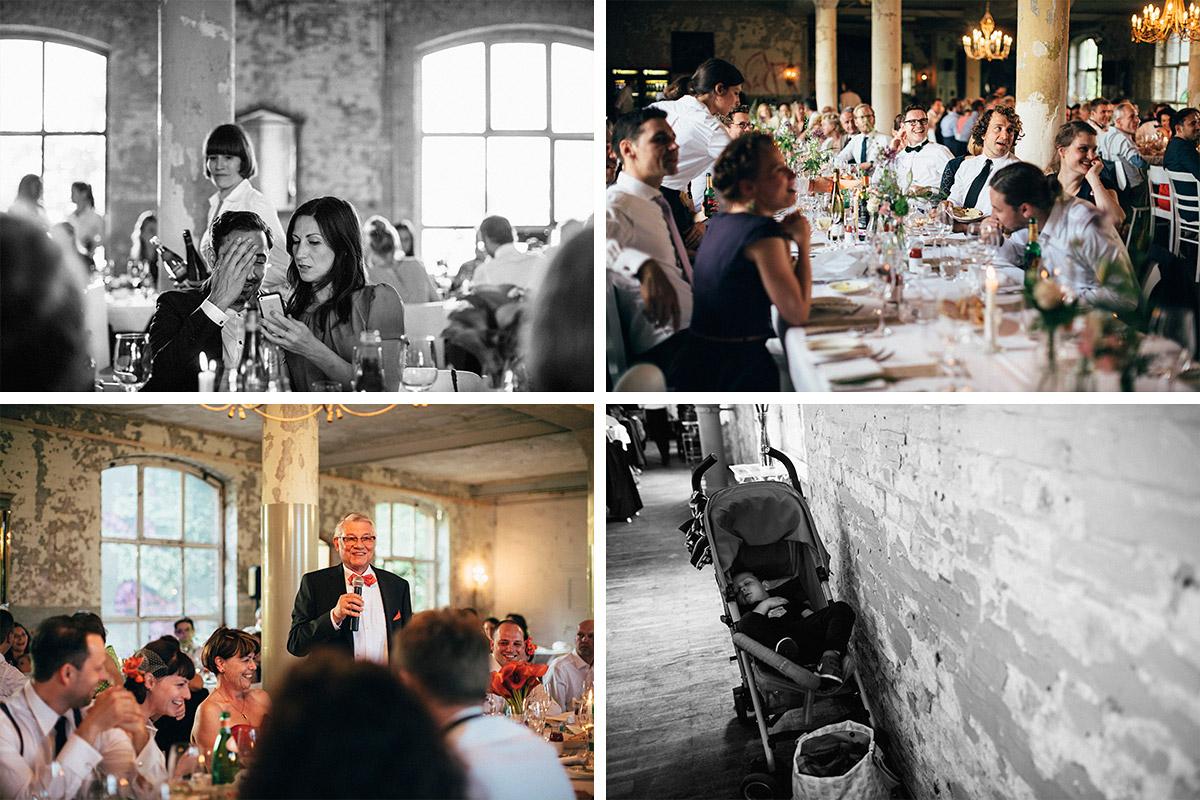 ungestellte Hochzeitsfotos von Hochzeitsfeier in Alter Teppichfabrik Berlin © Hochzeit Berlin www.hochzeitslicht.de
