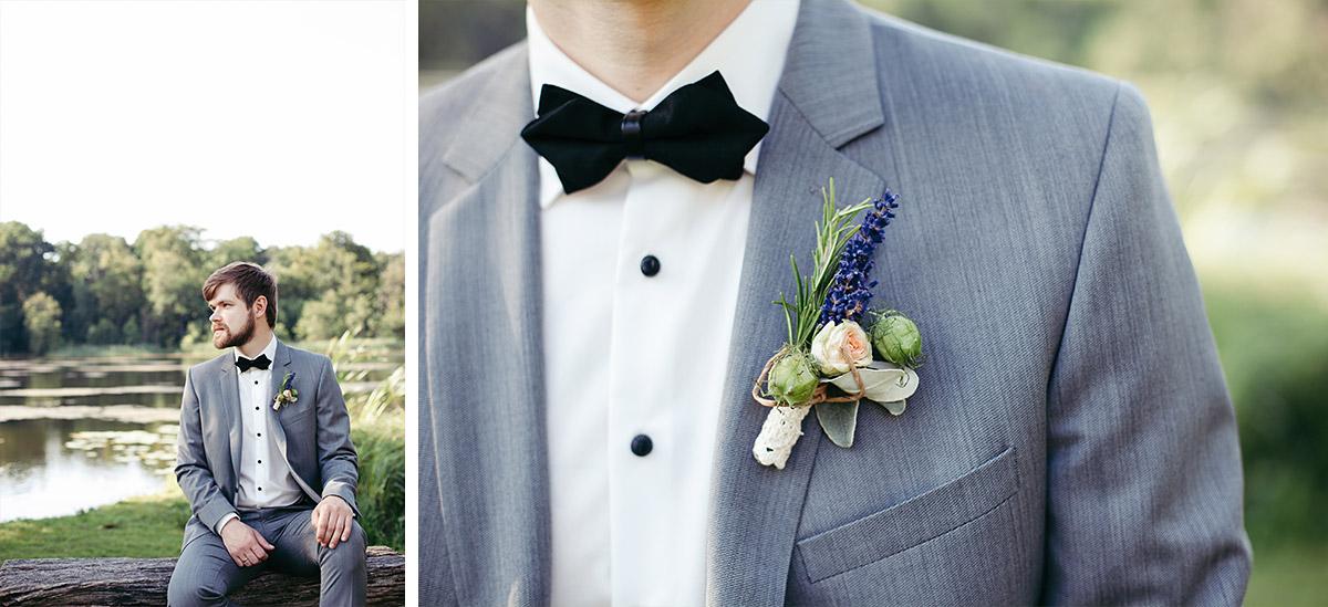 Hochzeitsfotos von Bräutigam aufgenommen von professionellem Hochzeitsfotograf bei Sommerhochzeit im Landgut Stober Nauen © Hochzeitsfotograf Berlin www.hochzeitslicht.de