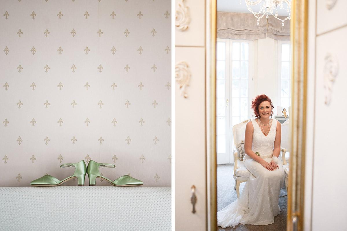 Hochzeitsreportage-Foto bei Vintage-Hochzeit in Villa Contessa in Bad Saarow am Scharmützelsee © Hochzeitsfotograf Berlin www.hochzeitslicht.de